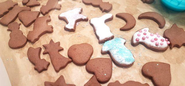 In der Weihnachtsbäckerei …